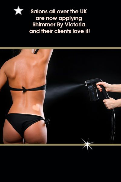 Salons all over the UK are now applying Shimmer By Victoria and their clients love it!